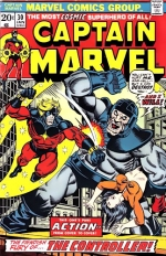 Captain Marvel vol 1 # 30
