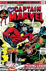 Captain Marvel vol 1 # 35