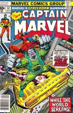 Captain Marvel vol 1 # 52