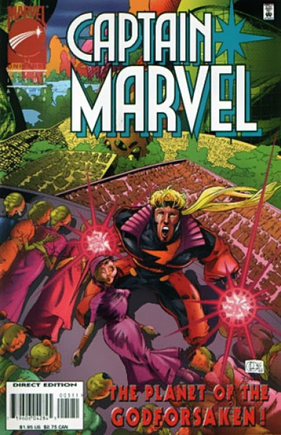 Captain Marvel vol 2 # 5