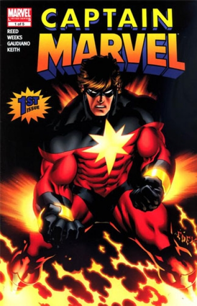 Captain Marvel vol 5 # 1