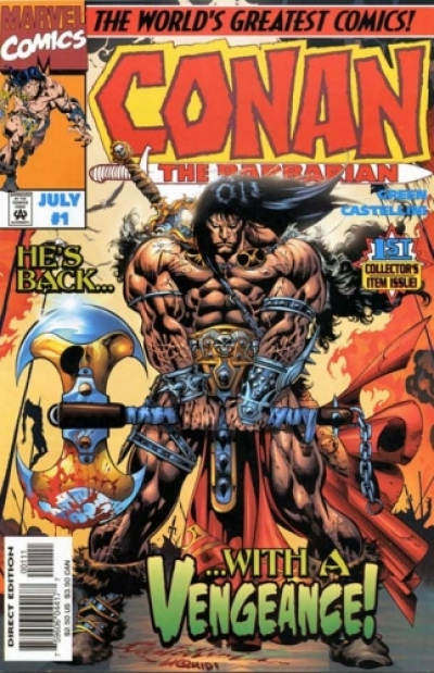 Conan the Barbarian vol 2 # 1