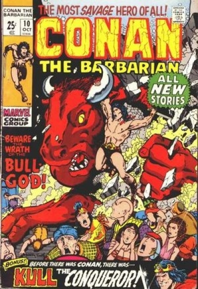 Conan The Barbarian Vol 1 # 10