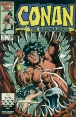 Conan The Barbarian Vol 1 # 186