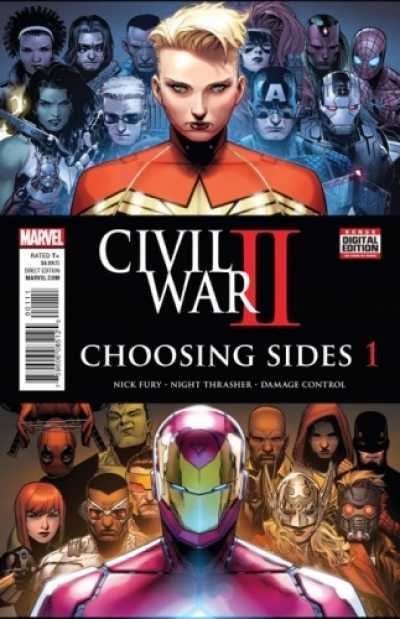 Civil War II: Choosing Sides # 1