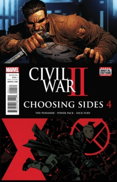 Civil War II: Choosing Sides # 4