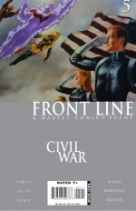 Civil War: Front Line # 5
