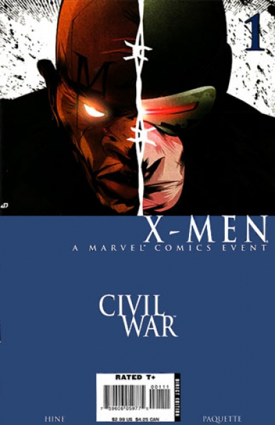 Civil War: X-Men # 1