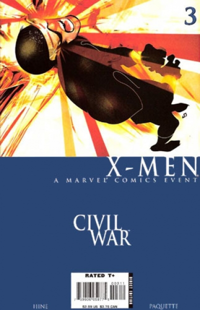 Civil War: X-Men # 3