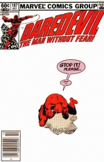 Daredevil vol 1 # 187
