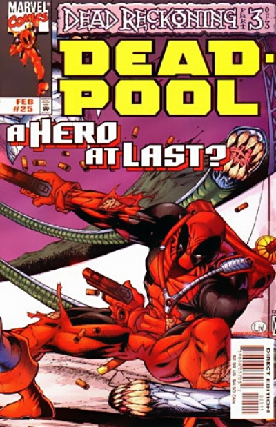 Deadpool vol 1 # 25