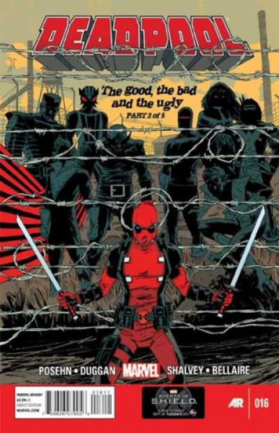 Deadpool vol 3 # 16