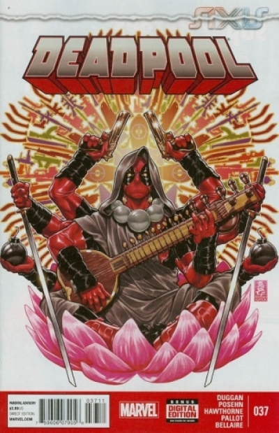 Deadpool vol 3 # 37