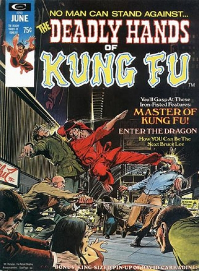 Deadly Hands of Kung Fu vol 1 # 2