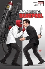 Secret Agent Deadpool # 6