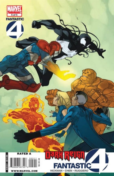 Dark Reign: Fantastic Four # 5