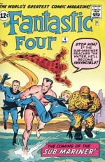 Fantastic Four vol 1 # 4