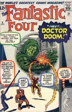 Fantastic Four vol 1 # 5