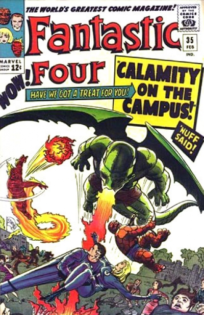 Fantastic Four vol 1 # 35
