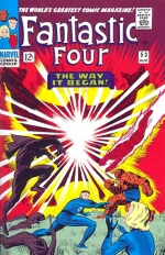 Fantastic Four vol 1 # 53