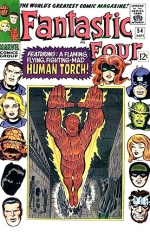 Fantastic Four vol 1 # 54