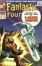 Fantastic Four vol 1 # 55