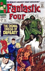 Fantastic Four vol 1 # 58