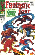 Fantastic Four vol 1 # 73