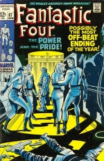 Fantastic Four vol 1 # 87