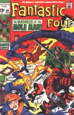 Fantastic Four vol 1 # 89