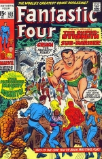 Fantastic Four vol 1 # 102