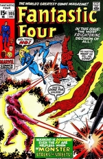 Fantastic Four vol 1 # 105