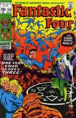 Fantastic Four vol 1 # 110