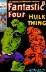 Fantastic Four vol 1 # 112