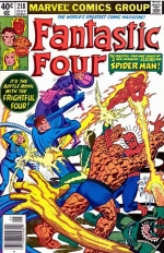 Fantastic Four vol 1 # 218
