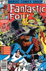 Fantastic Four vol 1 # 219