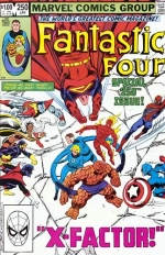 Fantastic Four vol 1 # 250