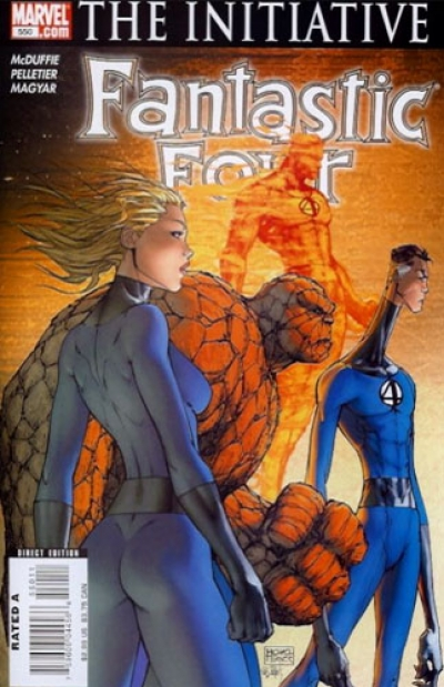 Fantastic Four vol 1 # 550