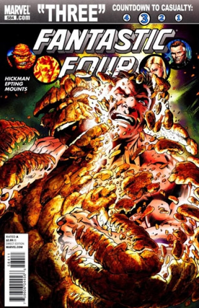 Fantastic Four vol 1 # 584