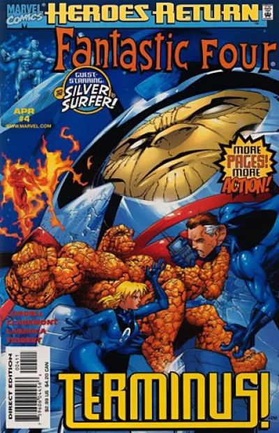 Fantastic Four vol 3 # 4