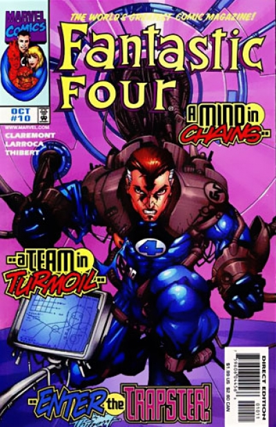 Fantastic Four vol 3 # 10