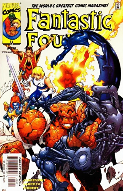 Fantastic Four vol 3 # 28