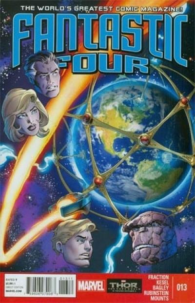 Fantastic Four vol 4 # 13