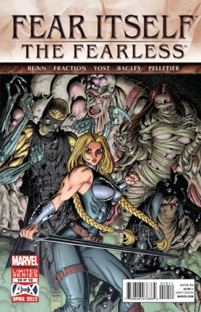 Fear Itself: The Fearless # 10