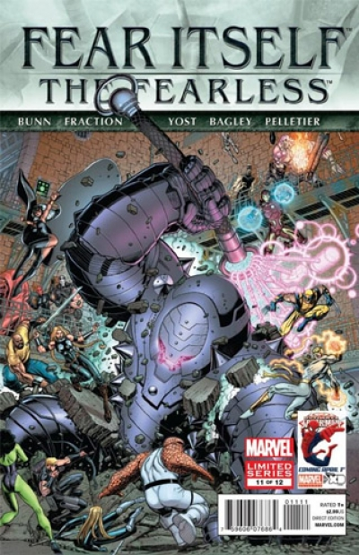 Fear Itself: The Fearless # 11