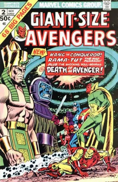 Giant-Size Avengers vol 1 # 2