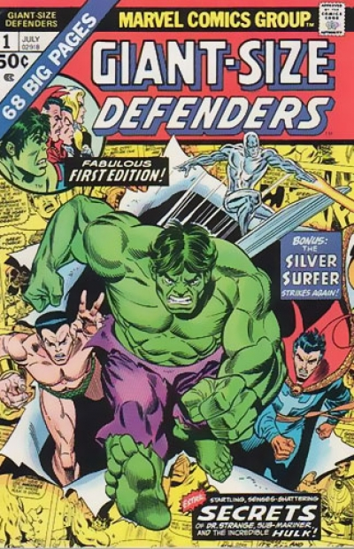 Giant-Size Defenders # 1