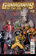 Guardians of the Galaxy vol 4 # 1