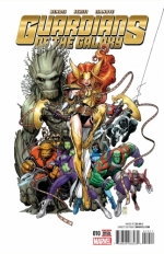 Guardians of the Galaxy vol 4 # 10