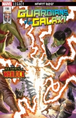 Guardians of the Galaxy vol 4 # 150